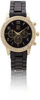 New York & Co. Sparkling Enamel Link Watch