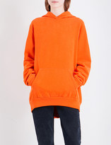 Maison Margiela Exposed seam cotton-jersey hoody