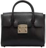 Furla Small Metropolis Leather Tote Bag