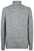 Brunello Cucinelli Turtle Neck Cable Knit Sweater