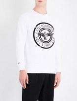 Boy London Plastisol cotton-jersey sweatshirt