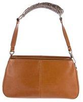 Saint Laurent Leather Mombasa Shoulder Bag