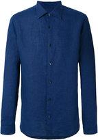 Z Zegna classic shirt - men - Linen/Flax - M