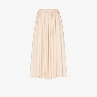 Roksanda Allegra cotton midi skirt
