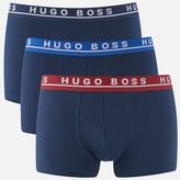 Boss Hugo Boss 3 Pack Trunks Blue