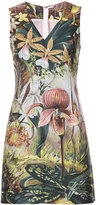 ADAM by Adam Lippes forest print mini dress - women - Polyester - 0