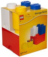 Room copenhagen LEGO 4-pc. Storage Brick Multi-Pack by Room Copenhagen