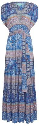 Melissa Odabash V-Neck Maxi Dress