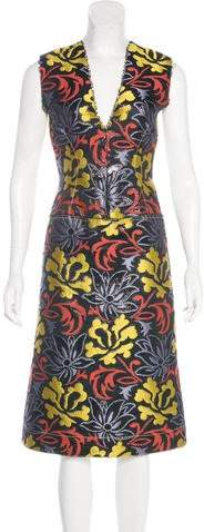Derek Lam Jacquard Sheath Dress w/ Tags