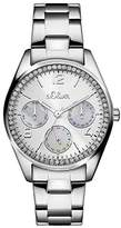 S'Oliver Women's Quartz Watch Analogue Display and Stainless Steel Strap SO-3063-MM