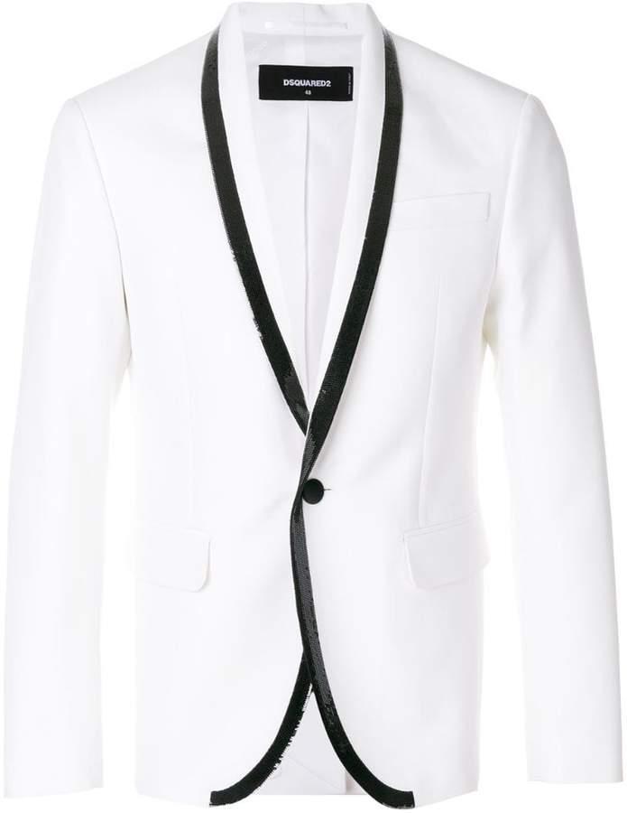 DSQUARED2 sequin smoking jacket