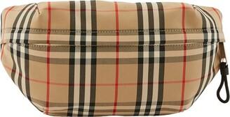 Burberry Medium Vintage Check Bonded Cotton Bum Bag