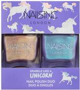 Nails Inc Sparkle like a unicorn duo 0.94 Fl Oz Nail Polish