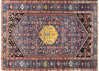 "One Kings Lane Vintage Antique Persian Malayer Rug - 4'4"" x 6'5"" - Eli Peer Oriental Rugs - blue/multi"