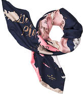 Kate Spade Going places square scarf