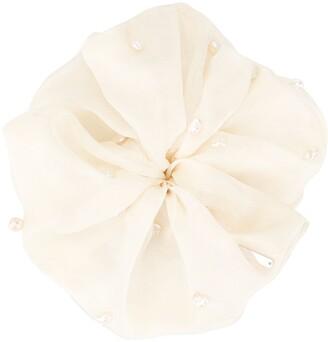 Pearl Detail Scrunchie
