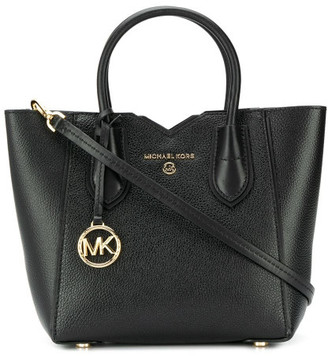 MICHAEL Michael Kors Mae Small Leather Messenger Bag