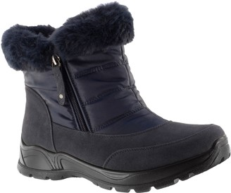 Easy Street Shoes Easy Dry by Waterproof Weather Boots - Frosty