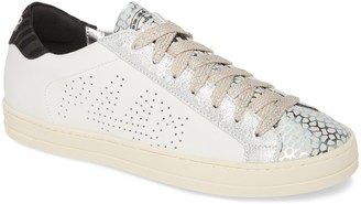 P448 John Perforated Logo Sneaker