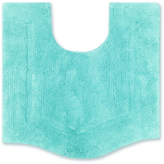 """Home Weavers Inc. Waterford Bath Rug 20""""x20"""" Contour Turquoise"""