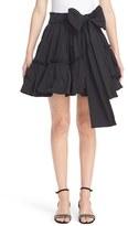 Marc Jacobs Women's Tie Waist Faille Ruffle Skirt