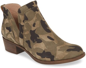 Lucky Brand Bebhina Side Notch Bootie