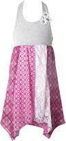 JCPenney Pinky Handkerchief Halter Dress - Toddler Girls 2t-4t