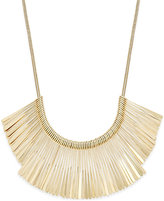 INC International Concepts Gold-Tone Fringe Collar Necklace, Only at Macy's