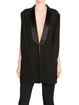 Maison Martin Margiela - Crepe Vest Tuxedo Style Jacket