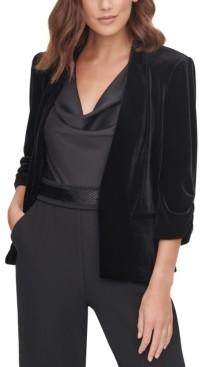 Eliza J Velvet Jacket