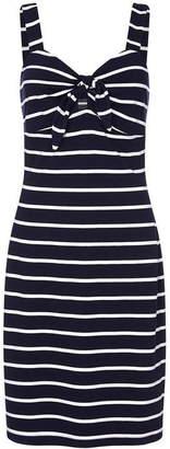 Yumi Nautical Tie Knot Bodycon Dress