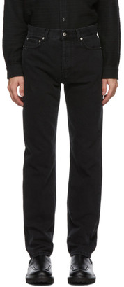 Séfr Black Straight-Cut Jeans