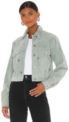 Understated Leather Lucky Stars Jacket