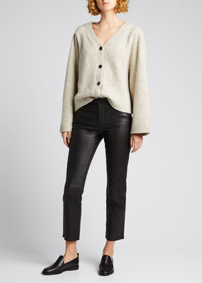 J Brand Adele Leather Ankle Jeans