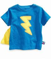 Sesame Street Nannette Kids T-Shirt, Little Boys Lightning Tee with Cape