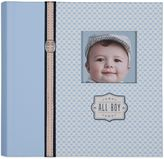 "Gibson C.R. All Boy"" Slim Bound Photo Journal Album in Blue"