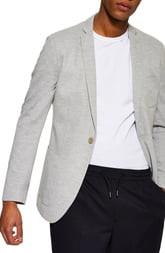 Topman Classic Fit Jersey Blazer