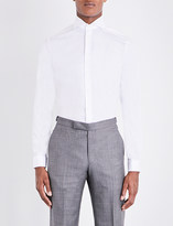 Eton Super slim-fit single-cuff cotton shirt