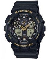 G-Shock GA100GBX-1A9 Classic Black Gold Men's Watch