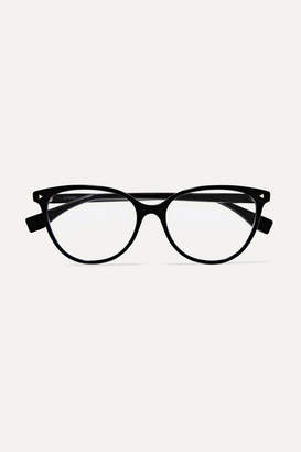 Fendi D-frame Acetate Optical Glasses - Black