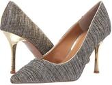 J. Renee Ginesia (Taupe/Gold Glitter) High Heels