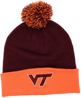 Top of the World Virginia Tech Hokies 2-Tone Pom Knit Hat