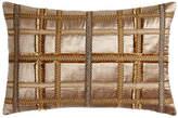 """Dian Austin Couture Home Kamala Gimp-Plaid Pillow, 15"""" x 22"""""""
