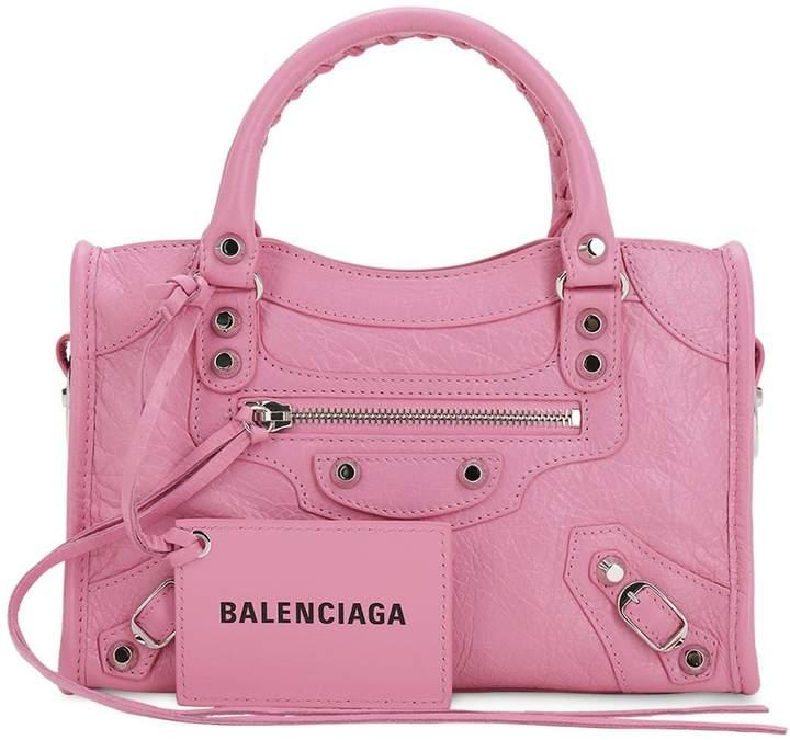 301bed712a Pink Balenciaga City - ShopStyle
