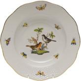Herend Rothschild Bird Motif 5 Rim Soup Plate