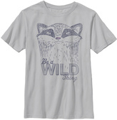 Fifth Sun Silver 'Be A Wild Thing' Crewneck Tee - Boys