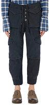"""Greg Lauren Men's """"Army Jacket Lounge Pants""""-NAVY"""