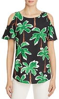 Cooper & Ella Christien Cold Shoulder Palm Tree Top