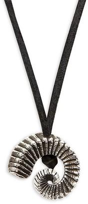 King Baby Studio Ram Horn Pendant Necklace