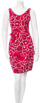 Moschino Sleeveless Floral Dress
